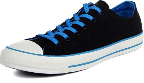 Converse - Chuck Taylor All Star Two Tone Ox Canvas Shoes in Black/Blue, Size: 4.5 D(M) US Mens / 6.5 B(M) US Womens, Color: Black/Blue