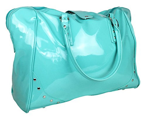 Trendy Flyer 19  Large Duffel/Tote Bag Luggage Travel Gym Purse Case Turquoise
