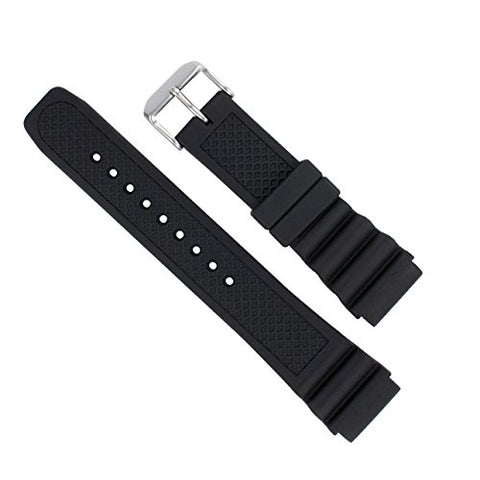 Italian rubber watch band for Luminox 22mm 3100/3200/3400/3600/8400