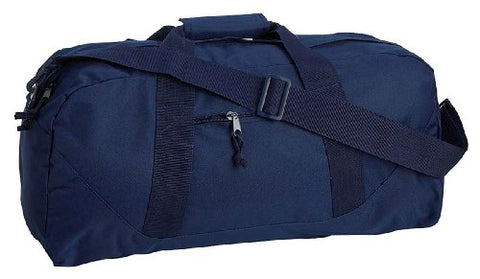 UltraClub Large Square Duffel Bag - Navy