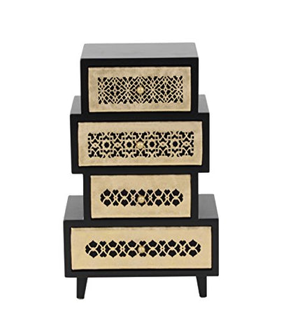 Wooden Jewelry Chest 8 W, 13 H 82187