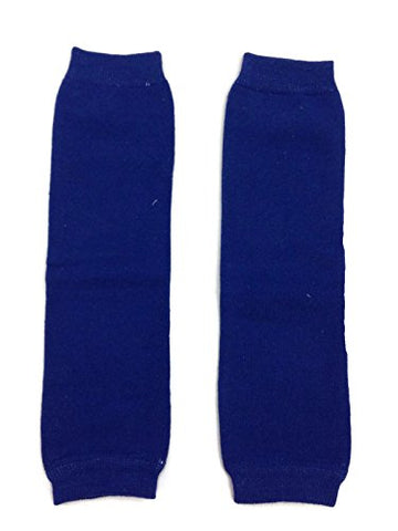KWC - Solid Colors Plain Baby Leg Warmer/Leggings (One Size, Royal Blue)