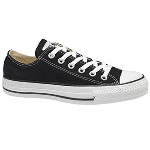 CONVERSE ALL STAR CHUCK TAYLOR OX LOW TOP BLACK M9166 UNISEX MEN WOMEN SHOES US SIZE MEN 8/WOMEN 10