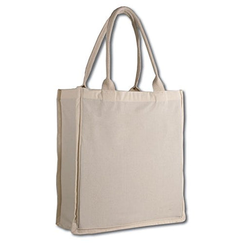 Fancy Shopper Tote Bag (1, Natural)