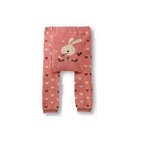 Wrapables Baby & Toddler Leggings, Heartful Hare - 12 to 24 Months