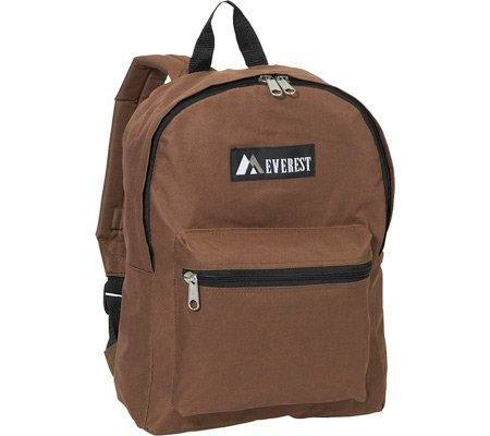 Everest Basic Backpack,Brown,US