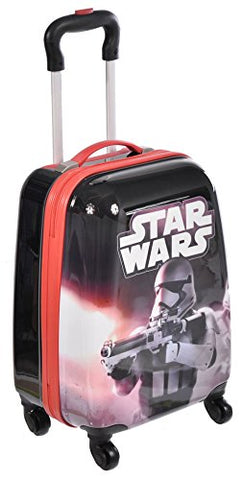 Star Wars Spinner Trolley Exclusive Designed Kids Hard Side Luggage Case 18 Inch