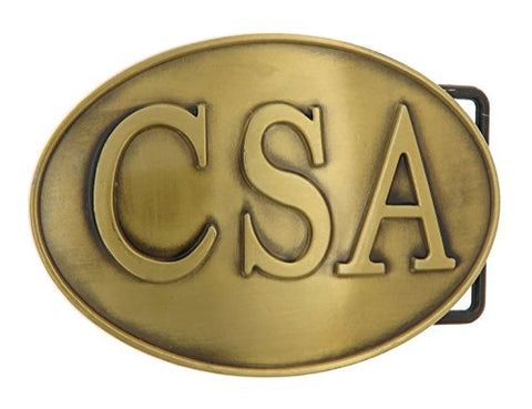 CSA Bronze Belt Buckle