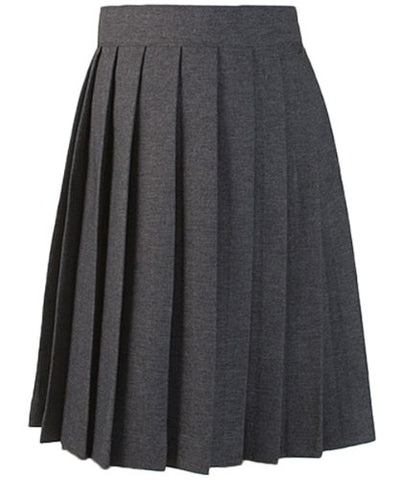 French Toast Pleated Skirt - gray, 20