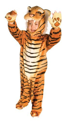 Tiger Toddler Costume Orange Black - Small