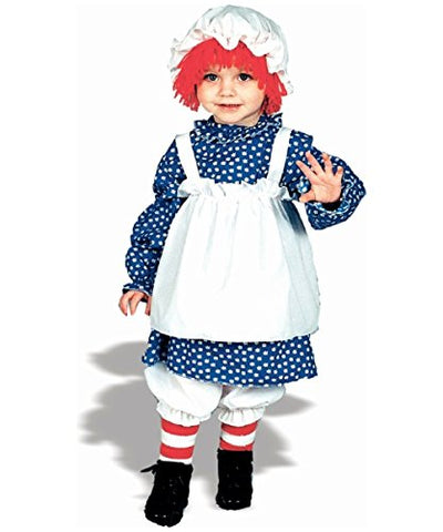 Raggedy Ann Costume - Child Costume 4-6