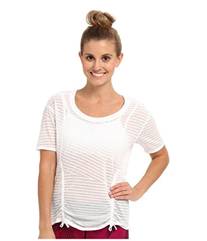 Lucy Women's Worth The Weights S/S Lucy White SM