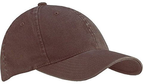 6997 Flexfit Low Profile Garment Washed Cotton Cap - Large/X-Large (Brown)