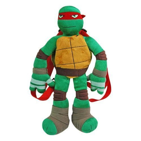 Teenage Mutant Ninja Turtles Plush Backpack Raphael