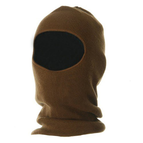Fleece Lined Face Mask - Copper