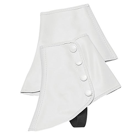 Snap Spats (White, Medium) by Director's Showcase (DSI)