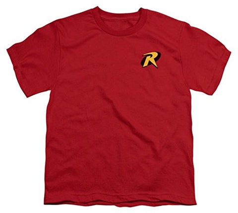 Youth: Batman-Robin Logo Kids T-Shirt Size YXL