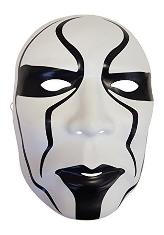Sting Silent Warrior Plastic Halloween Party WWE Mask