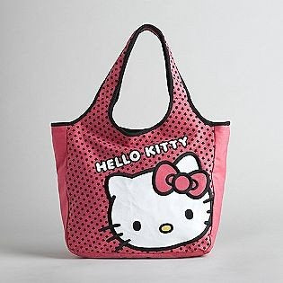 Sanrio Hello Kitty Pink with Face Tote Bag Purse