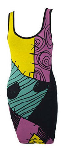The Nightmare Before Christmas I Am Sally Skellington Tunic Tank Dress (XX-Large)