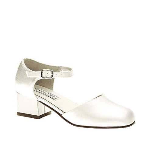 Touch Ups Clarissa Girls White Loafers 8.5 M
