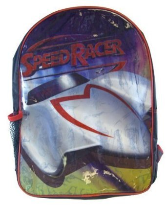 Speed Racer Backpack - Full size Speed Racer School Bag