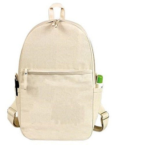 Yens Fantasybag  eGREEN  Canvas Backpack-Natural, CB-018