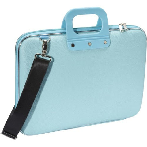 Bombata Classic Laptop Briefcase (Light Blue)