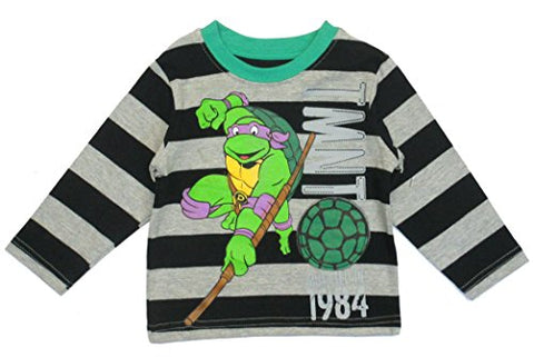 Teenage Mutant Ninja Turtles Donatello Baby Boys' Long Sleeve Tee Shirt 12 Months