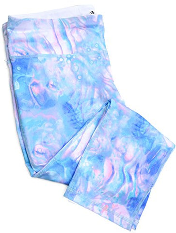 Ideology Printed Cropped Leggings Women's - Pants & Capris Aquatic Large 12-14