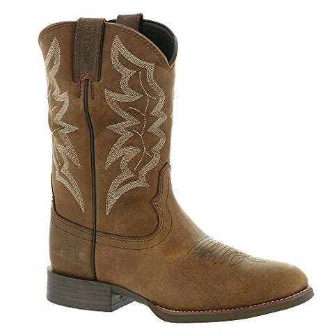 Justin Boots Stampede Collection 7221 Men's Boot 8.5 D(M) US Brown-Distressed