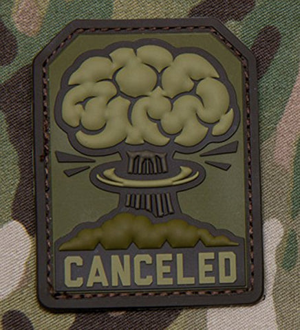 CANCELED Mushroom Cloud Patch - PVC (MULTICAM)
