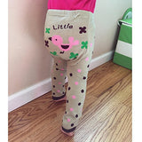 Wrapables Baby & Toddler Leggings, Pretty Flower Bear - 24 to 36 Months