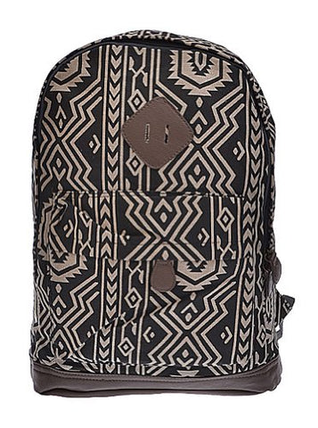 Womens Designer Gold Pattern Backpack