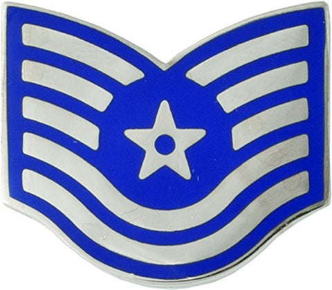 Air Force Enlisted Metal Rank - TSGT- 1 Pair
