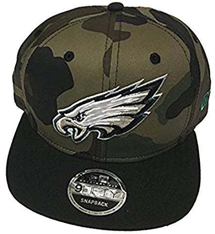 100% Authentic, NWT, Philadelphia Eagles Salute To Service 9Fifty SnapBack Hat Cap One Size