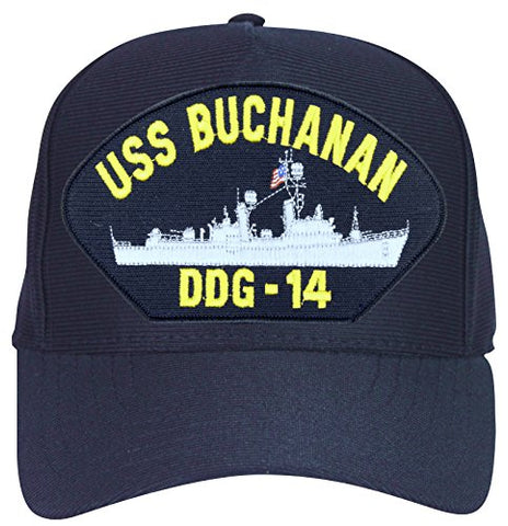 USS Buchanan DDG-14 Ball Cap