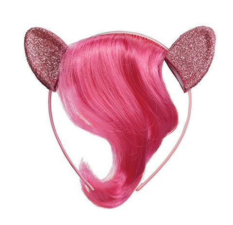 Pinkie Pie Child Movie Headpiece with Hair