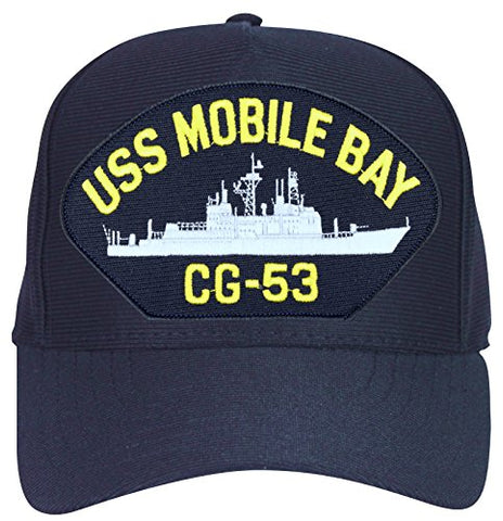 USS Mobile Bay CG-53 Ship Cap