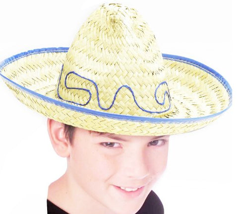 Forum Novelties Child Size Mexican Sombrero Western Straw Costume Hat