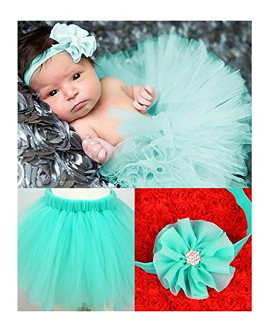 Lovinglove Baby Girls Photo Photography Prop Tutu Skirt Headband Outfits Bunny Skirt and Headband Gift Set