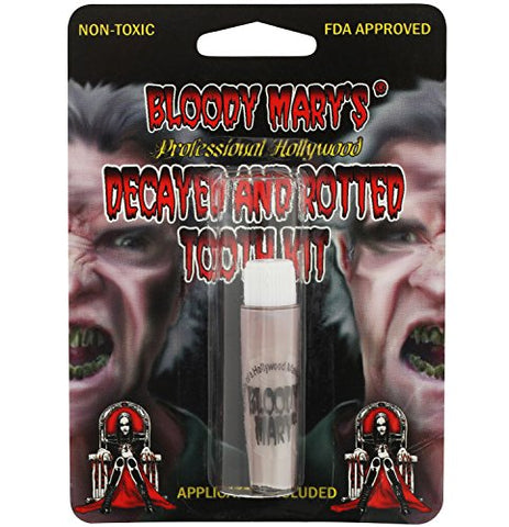 Zombie Tooth Decay Paint For Theater, Costume, Halloween, Vampire By Bloody Mary