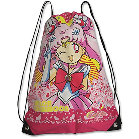Sailor Moon Chibimoon Cinch Drawstring Bag