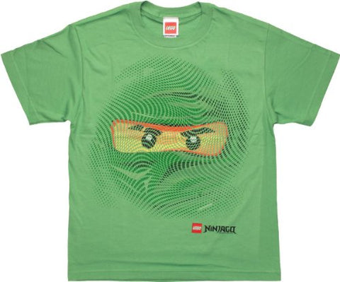 Lego Ninjago Lloyd Swirl Face Youth T-Shirt X-Large 18-20
