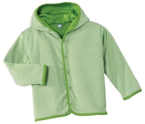 Precious Cargo - Infant Snap Front Reversible Jacket. CAR21 - 6MO - Apple Green