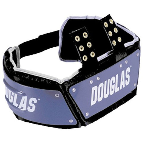 Douglas Cp Series Football Rib Combo Protector With Plastic - Royal 6 Inches