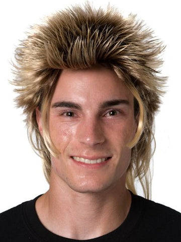 Adult Mullet Wig - Billy the Exterminator Hair - Halloween