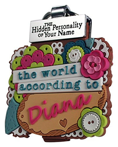 World According to Keyring Book Diana Key Chain (1840128)