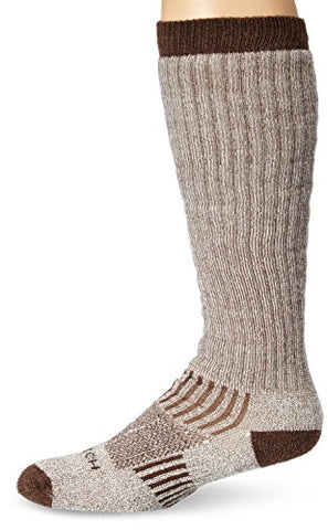 Woolrich Men's Big Wooly Over-The-Calf Sock, Khaki, Sock Size:10-13/Shoe Size: 6-12