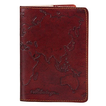 Cruelty Free Leather World Passport Cover - Fair Trade Poduct